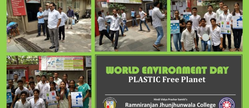 R J College | World Environment Day
